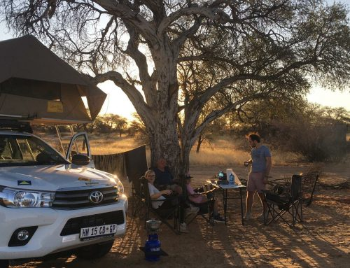 Camping with Serge and family: 1 trip, 6 countries